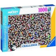 Puzzle 1000 el. Challenge. Myszka Miki Dla dorosłych Ravensburger