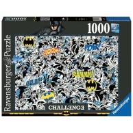 Puzzle 1000 el. Challenge. Batman Dla dorosłych Ravensburger
