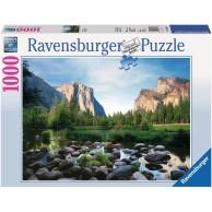 Puzzle 1000 el. Park narodowy Yosemite Pejzaże Ravensburger