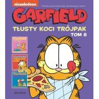Garfield - Tłusty koci trójpak, tom 8 Komiksy pełne humoru Egmont