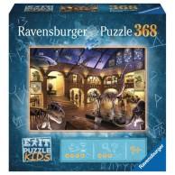 Puzzle 368 el. EXIT Muzeum historii naturalnej Seria Exit Ravensburger