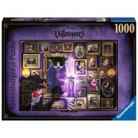Puzzle 1000 el. Czarne charaktery Disneya Zła królowa Dla dzieci Ravensburger