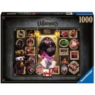 Puzzle 1000 el. Czarne charaktery Disneya Ratigan Dla dzieci Ravensburger