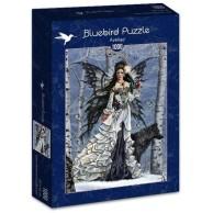 Puzzle 1000 Królowa lasu Fantasy bluebird puzzle