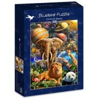 Puzzle 1000 Uniwersalne piękno Inspiracje bluebird puzzle