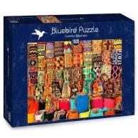 Puzzle 1500 Kolorowe koszyki Inspiracje bluebird puzzle