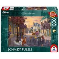 PQ Puzzle 1000 el. THOMAS KINKADE Aryskotraci (Disney) Dla dzieci Schmidt Spiele