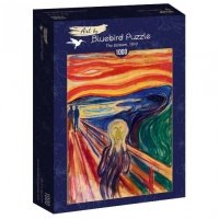 Puzzle 1000 Krzyk, Edvard Munch Malarstwo bluebird puzzle