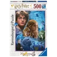 Puzzle 500 el. Harry Potter w Hogwarcie Dla dzieci Ravensburger