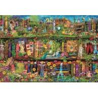 Puzzle 2000 el. The Garden Shelf Inspiracje Clementoni