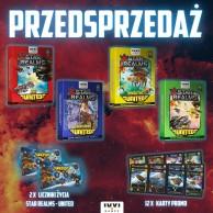 Star Realms: zestaw UNITED + karty promo + 2 x licznik życia Star Realms IUVI Games