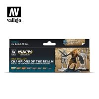 Vallejo Premium Wizkids Set Champions of the Realm 80.250 Zestawy Vallejo