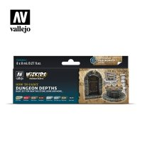 Vallejo Premium Wizkids Set Dungeon Depths 80.251 Zestawy Vallejo