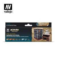 Vallejo Premium Wizkids Set Wood & Steel 80.256 Zestawy Vallejo