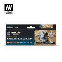 Vallejo Premium Wizkids Set Masters of the Arcane 80.258 Zestawy Vallejo