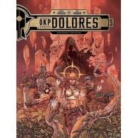 OKP Dolores - 3 - Czerwony kryształ Komiksy fantasy Egmont