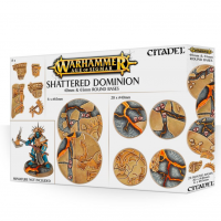 Podstawki Age of Sigmar: Shattered Dominion 65 & 40mm Round Bases Podstawki Games Workshop