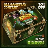 Kingdom Rush: Elemental Uprising - Kickstarter Elemenace Hoard Pledge Przedsprzedaż Lucky Duck Games