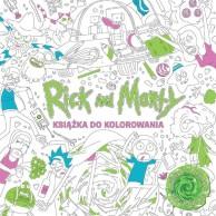 Rick and Morty Książka do kolorowania Pozostałe Studio JG
