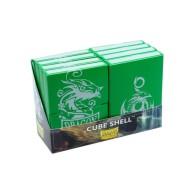 Dragon Shield Cube Shell - Green Arcane Tinmen Arcane Wonders