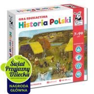 Kapitan Nauka. Historia Polski. Gra edukacyjna Edukacyjne Edgard