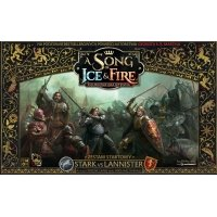 A Song of Ice and Fire. Starter 2 osobowy - Stark VS Lannister (PL) Song of Ice & Fire warfactory