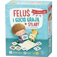 Feluś i Gucio grają w sylaby Edukacyjne Nasza Księgarnia