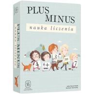 Plus minus: Nauka liczenia Edukacyjne Nasza Księgarnia