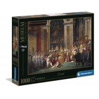 Puzzle 1000 el. Jacques Louis David - The Consecration of the Emperor Napoleon I - Museum Collection Malarstwo Clementoni