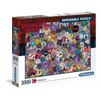 Puzzle 1000 el. Impossible Stranger Things Filmy Clementoni
