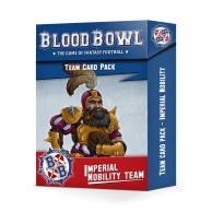Blood Bowl: Imperial Nobility Team Card Pack Blood Bowl Games Workshop