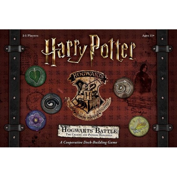 Harry Potter Hogwarts Battle - The Charms and Potions Expansion Pozostałe gry USAopoly