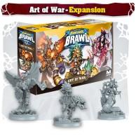 Super Fantasy Brawl: Art of War Przedsprzedaż Mythic Games