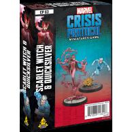 Marvel: Crisis Protocol - Scarlet Witch & Quicksilver Marvel: Crisis Protocol Fantasy Flight Games