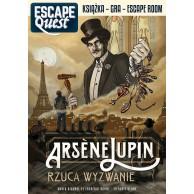 Escape Quest: Arsne Lupin rzuca wyzwanie. Książka z łamigłówkami Gry Paragrafowe Egmont