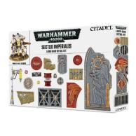 Warhammer 40000: Sector Imperialis Large Base Detail Kit Podstawki Games Workshop