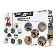 Podstawki: Sector Imperialis 25 & 40mm Round Bases Podstawki Games Workshop
