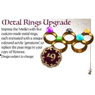 FLORENCE: Metal rings upgrade Przedsprzedaż