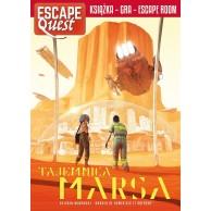 Escape Quest: Tajemnica Marsa. Książka z łamigłówkami Gry Paragrafowe Egmont