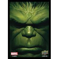 Marvel Card Sleeves - Hulk (65 Sleeves) Pozostałe Upper Deck Entertainment