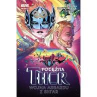 Potężna Thor - 3 - Wojna Asgardu z Shi'ar Komiksy z uniwersum Marvela Egmont