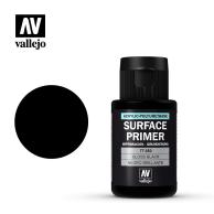 VALLEJO Surface Primer Gloss Black Primer 32 ml 77660 Surface Primer Vallejo