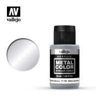 Metal Color 32ml. White Aluminium Seria Metal Color Vallejo