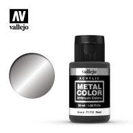 Metal Color 32ml. Steel Seria Metal Color Vallejo