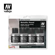 Zestaw Metal Color 4 farby - Metallic Panel Seria Metal Color Vallejo