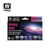 Eccentric The Shifters Zest. 6 farb - Galaxy Dust Zestawy Vallejo