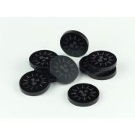 Crafters: Znaczniki akrylowe - Czarne - Słońce (10) Pozostałe Crafters