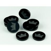 Crafters: Znaczniki akrylowe - Czarne - Korona (10) Pozostałe Crafters