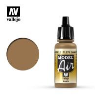Farba Vallejo Model Air 278 Sand Yellow 17 ml Zestawy Vallejo