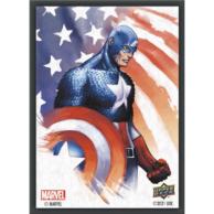 Marvel Card Sleeves - Captain America (65 Sleeves) Pozostałe Upper Deck Entertainment